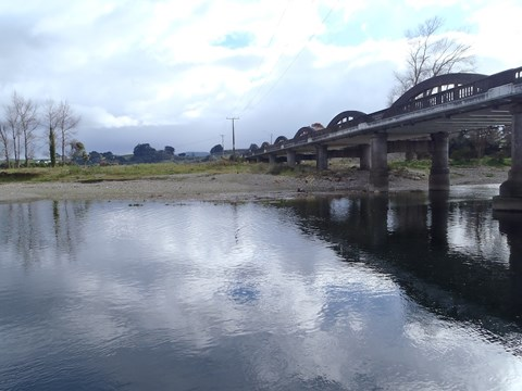 Mangatainoka at Pahiatua Town Bridge