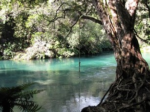 Tarawera River at Lake Outlet 002