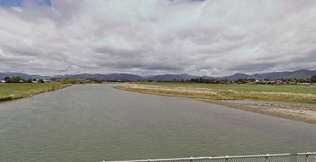 Waioeka River @ SH2 Bridge