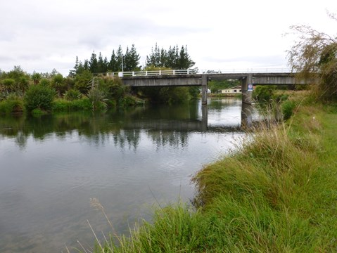 Ohau Channel at SH33 Bridge