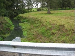 Waitakaruru River (Hauraki Plains) at Coxhead Rd Br