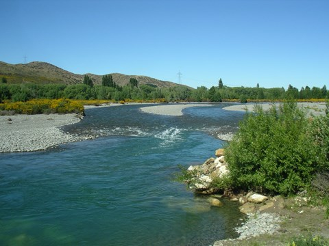 Hurunui River SH 7 upstream