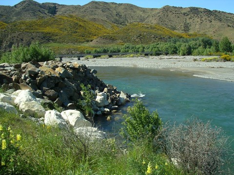 Hurunui River SH 7 downstream
