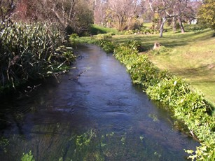 Lee River at Brooklands Farm upstream