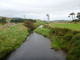Waikopikopiko Stream at Haldane Curio Bay