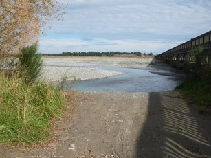 Rakaia River North Chanel at SH 1