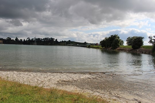Tauranga Harbour at Maungatapu Bridge (Main Photo)
