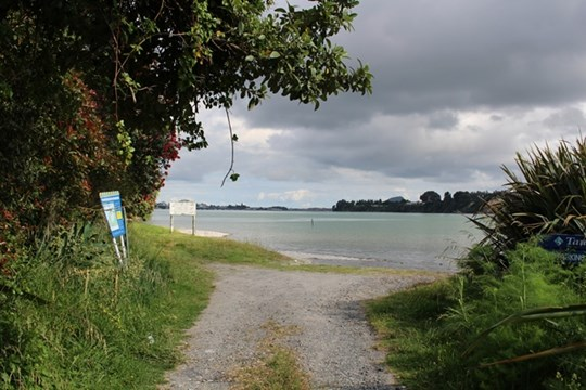 Tauranga Harbour at Maungatapu Bridge - Entrance