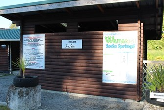 Outlet at Waitangi Soda Springs - Prices