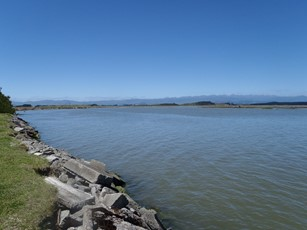 Manawatu at Foxton Upstream