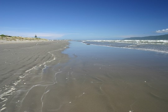 Waikanae Beach at Ara Kuaka